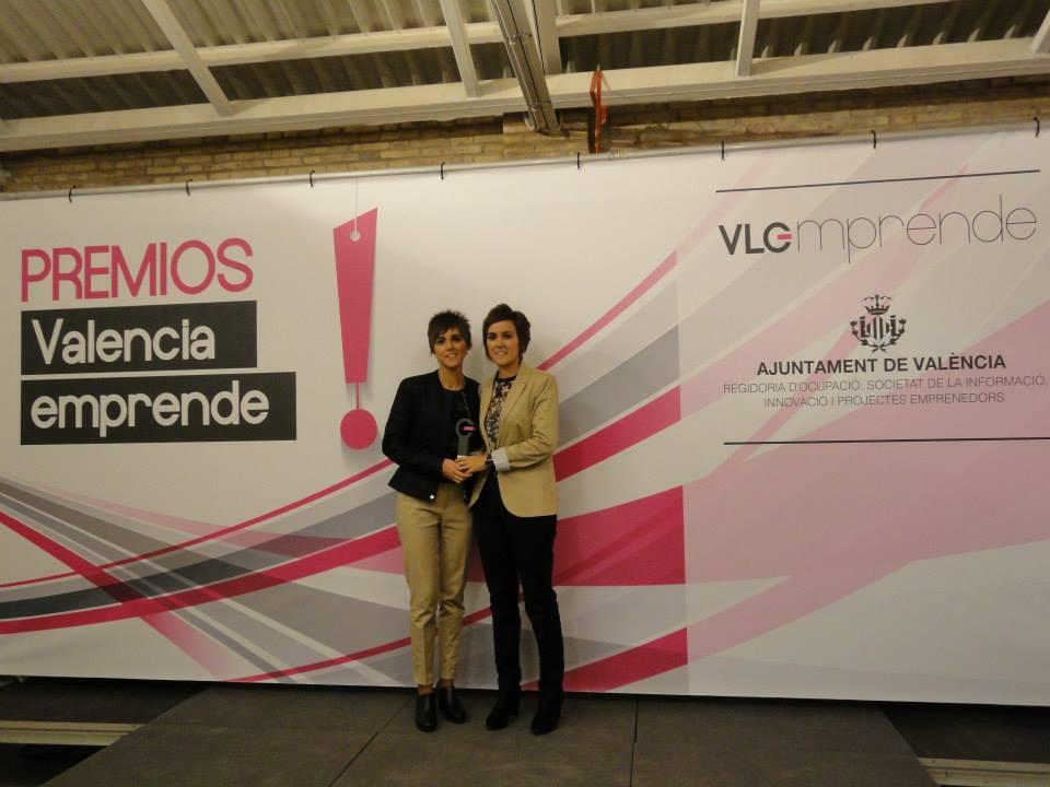 2º Premio en la categoría de MUJER EMPRENDEDORA