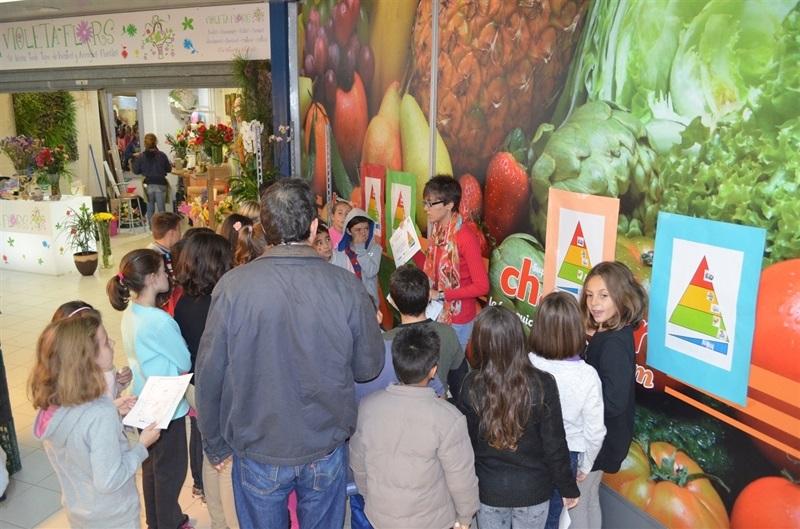 Gymkana saludable en el Mercado Municipal de Picanya