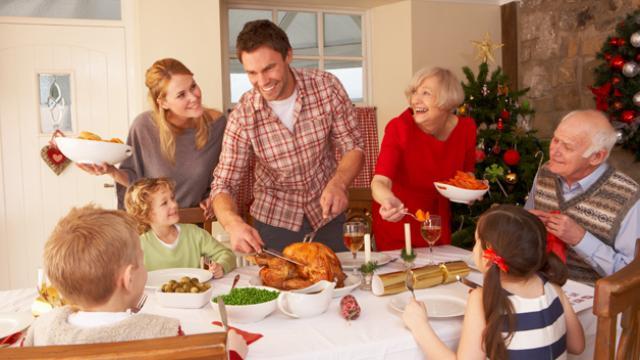 Navidades saludables con nuestros hijos