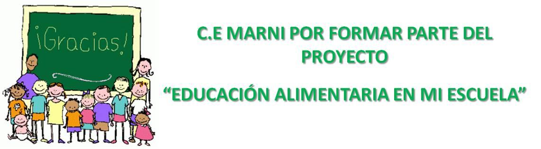 Finaliza el Proyecto de Educación Alimentaria en el Centro de Estudios Marni