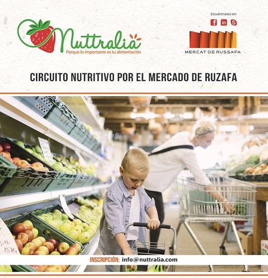 ¡Participa en el Circuito Nutritivo por el Mercado de Ruzafa!