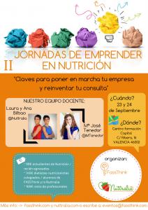 Jornadas de emprender en nutrición - Nuttralia