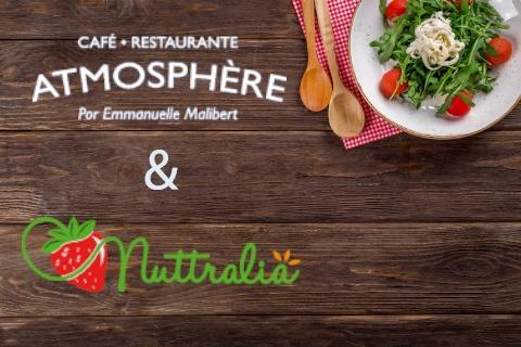 Nuttralia y Restaurante Atmosphère se unen para enseñar a comer