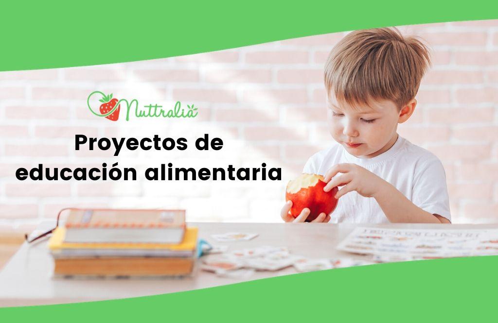 Proyectos y programas de educación alimentaria