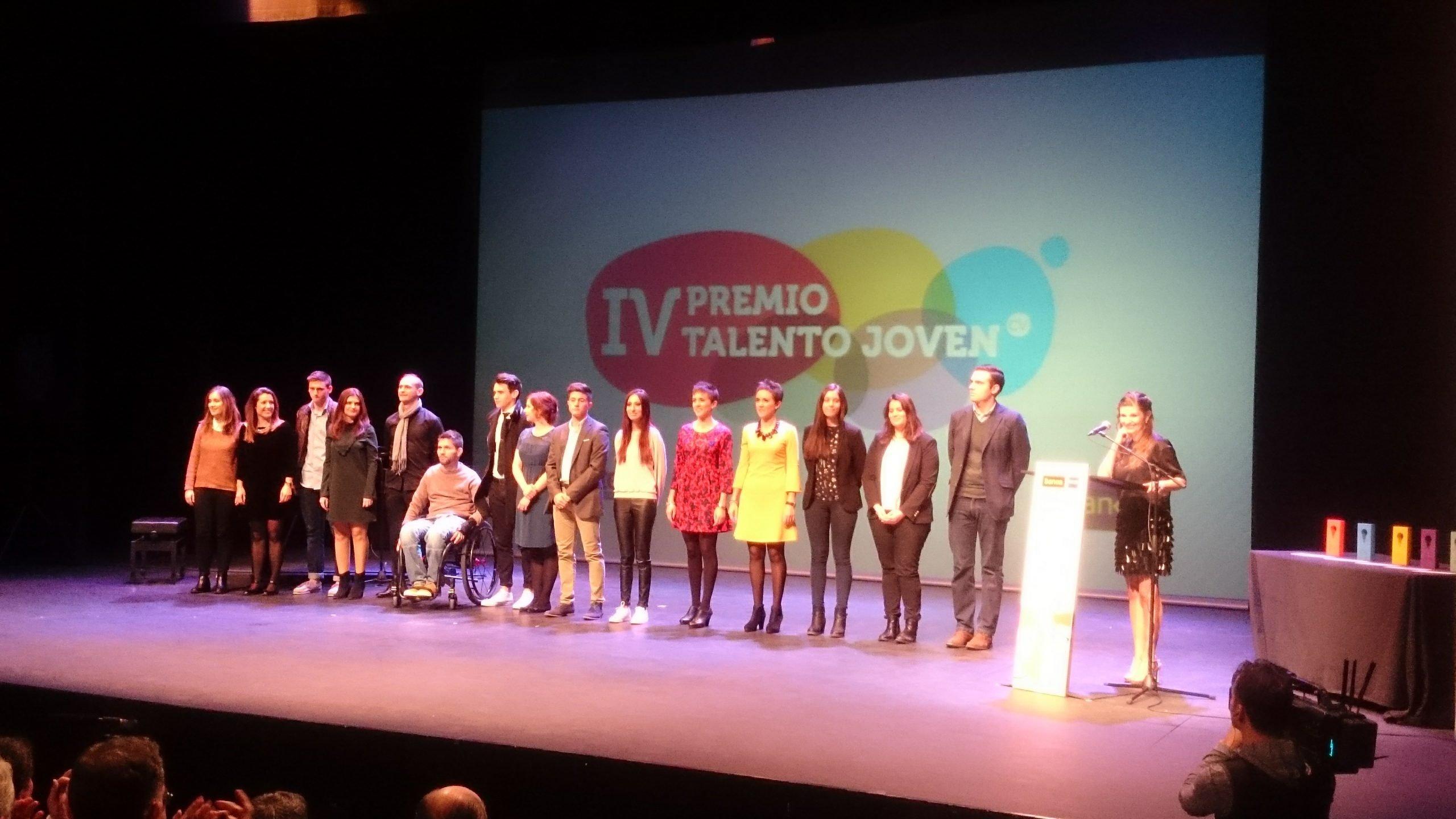 Finalistas Premios Talento Joven CV